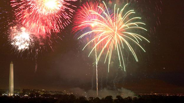 Half a million people turn out every year for the July 4 fireworks in the District.