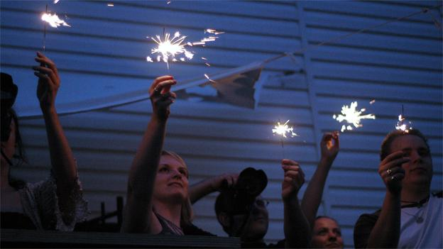 Sparklers are permitted in the District but are expressly banned in many other localities.