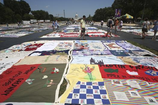 You've seen the AIDS quilt; now make your own!