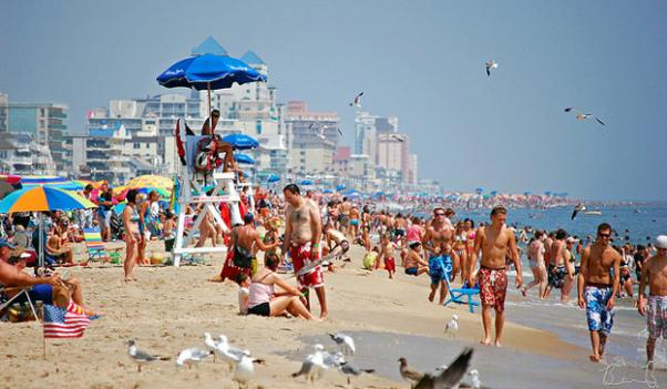 Maryland's beaches could be one element that brought more visitors in 2011.