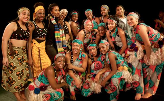 While celebrating African and African-American culture through dance and song, the Taratibu performers give back to the less fortunate as well.