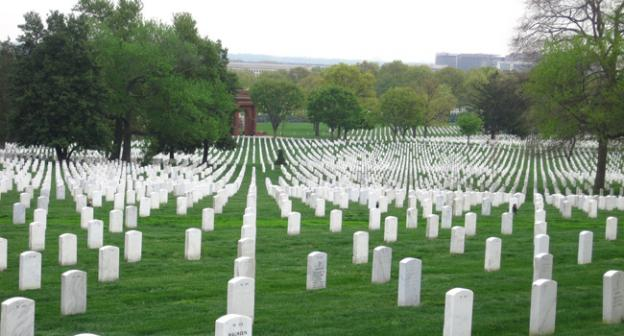 Arlington National Cemetery, shown here in 2011 file photo, sustained damage from last Friday's derecho.