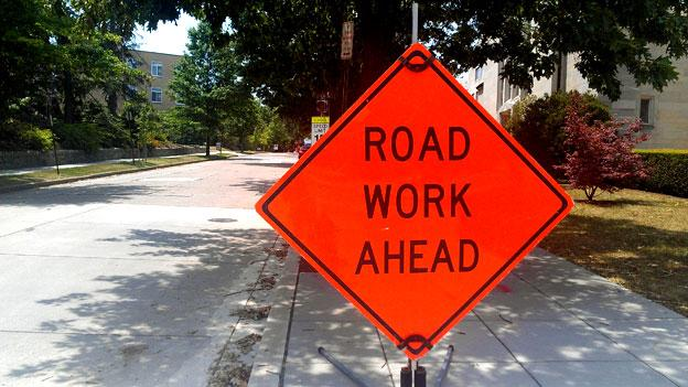 Sequestration cuts would affect road construction and infrastructure repair budgets.