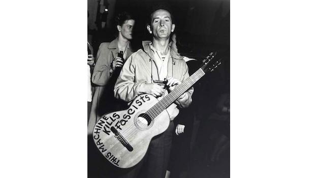 Woody Guthrie's centennial is celebrated with the help of his granddaughter at DC's Hill Country Live.