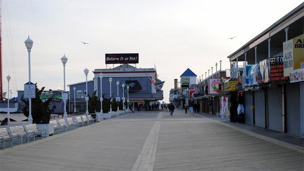 Ocean City Councilman Brent Ashley doesn't want to see any saggy pants on the boardwalk.