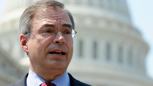 In this June 28, 2012 file photo, Rep. Andy Harris, R-Md., speaks at a news conference outside the U.S. Capitol in Washington.