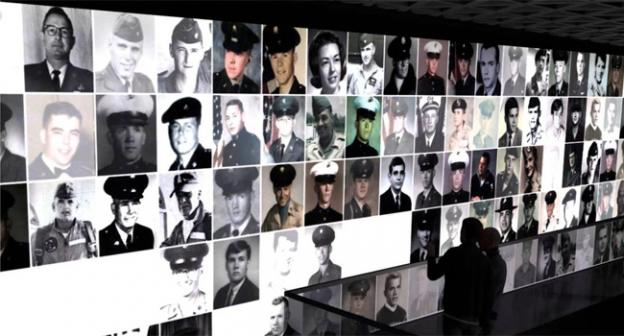 A new display at the Vietnam Memorial would put faces to the names of the servicemembers killed in batle.