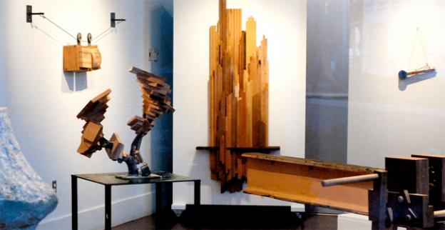 Wood art is taken to new places at artdc Gallery.
