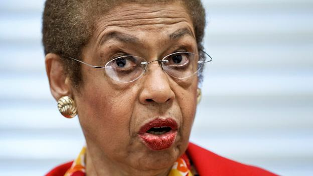 Del. Eleanor Holmes Norton and other members of the Congressional Black Caucus are upset at the blocking of judges.