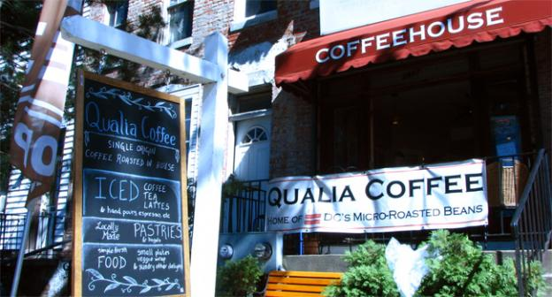 Qualia Coffee does good business at their Georgia Ave. location, but expansion downtown has proved quite difficult.