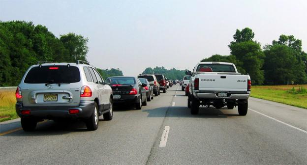 Traffic to Delaware beaches is not uncommon, but the added surge of festival-goers could gridlock roads.