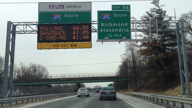The number of carpoolers on the EZ-Pass Express Lanes has underwhelmed so far.