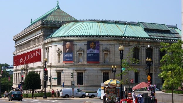 The Corcoran Gallery is the oldest private art museum in Washington.