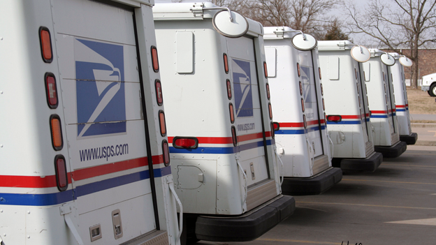 USPS deliveries do not, by and large, show up on time, according to a report.