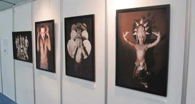 "The gallery ""Transcendents: Beyond Limitations"" at the Global Village showcases the SWING dancers in their best finery."