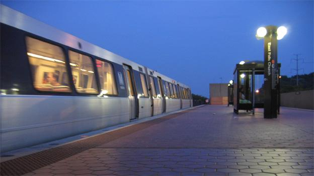 East Falls Church is one of four stations on the Orange Line closed this weekend.
