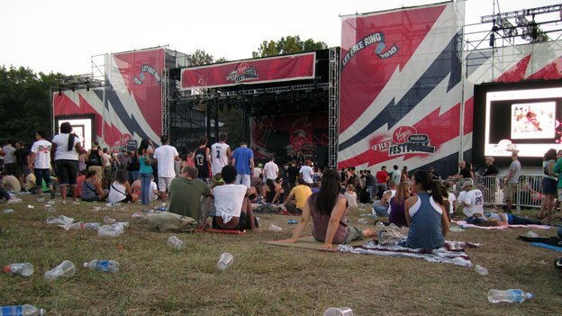 The Virgin Mobile Freefest will not return to the Merriweather Post Pavilion this year.