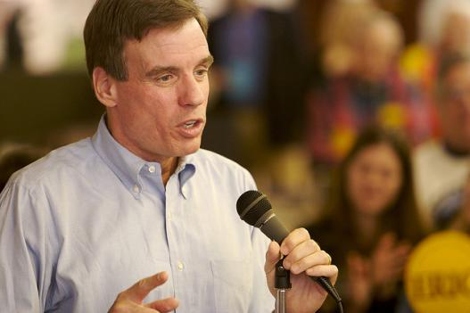 Virginia Senator Mark Warner thinks changing the Congressional budget process to be more like state governments would reduce gridlock and encourage a balanced budget.