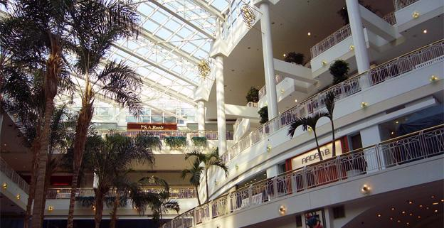 Shoppers at the Fashion Centre at Pentagon City are warned not to leave valuables in their cars.