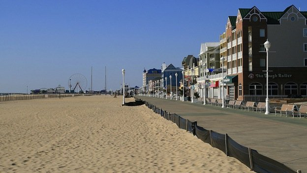Some business owners don't expect beaches to stay empty in Ocean City for very long this summer.
