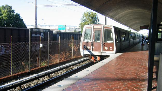 Shuttles are replacing trains through Minnesota Avenue on the Orange Line.