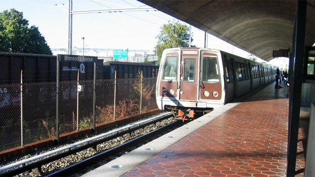 Metro crews will be doing repairs to the Minnesota Ave station this weekend.