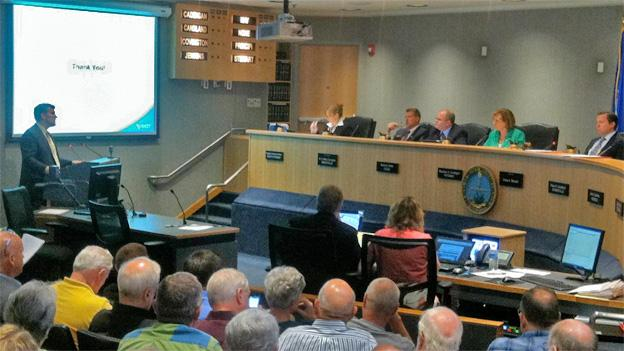 Virginia Transportation Secretary Sean Connaughton faced a tough audience at a meeting of the Prince William Co. Board of Supervisors.