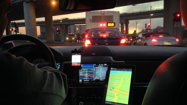 One proposal would limit the number of services a driver can utilize so they aren't juggling devices.
