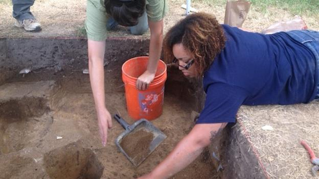 "Archaeologists from the University of Maryland and Morgan State University returned this summer to Easton, Md. to dig on ""The Hill,"" believed to be the nation's oldest neighborhood of free African Americans."