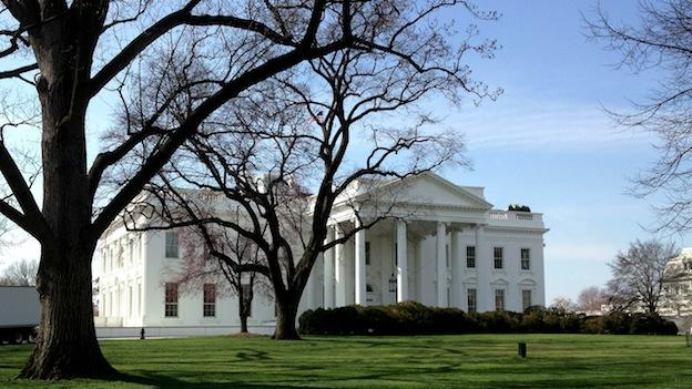 The White House at 1600 Pennsylvania Avenue features 16 bedrooms, 35 bathrooms and 55,000 square feet of space.