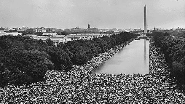 "Dr. Martin Luther King Jr. gave his famous ""I have a dream"" speech at the March on Washington 50 years ago."