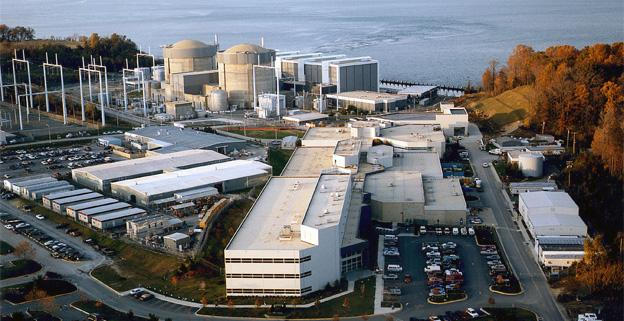 One of the two units at the Calvert Cliffs Nuclear Power Plant, located near Lusby, Md., was shut down after a malfunction.