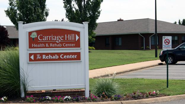 Carriage Hill Health & Rehab in Fredericksburg, Va., is on the federal Special Focus Facility list for nursing homes with a pattern of serious problems.