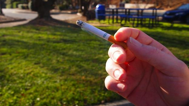 Public housing residents in Prince George's County will soon be forbidden to smoke in communal rooms.