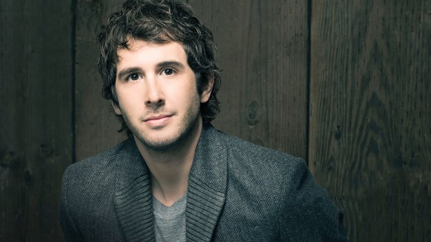 Josh Groban will perform with Wolf Trap Orchestra this week.