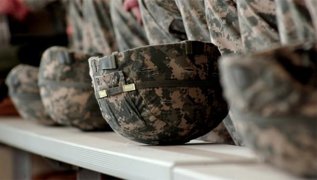 Active duty service members are at a heightened risk of traumatic brain injury, which researcers have linked to criminal behavior.