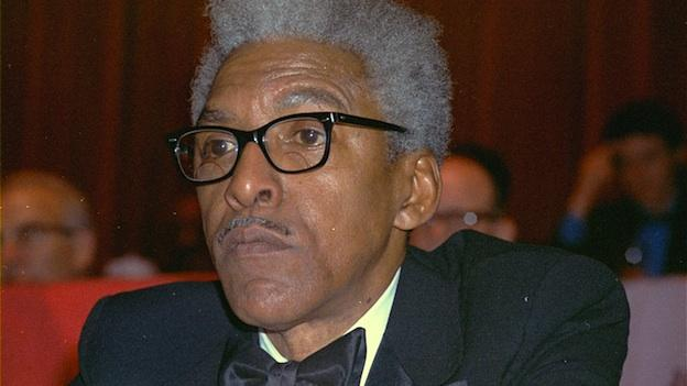 Civil rights leader Bayard Rustin is shown at the N.Y. Hilton in this Dec. 14, 1970 photo.