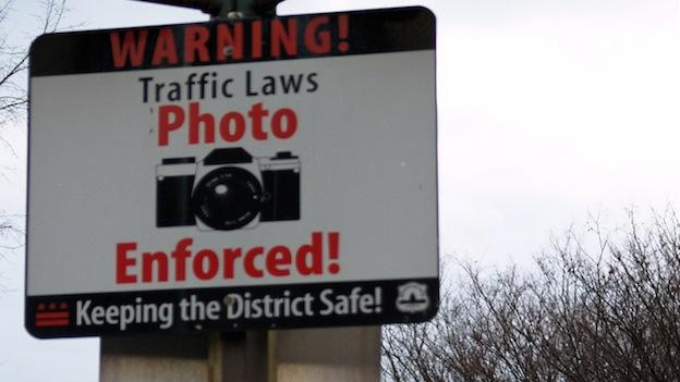The District's traffic camera fines have been a growing source of revenue for the city.