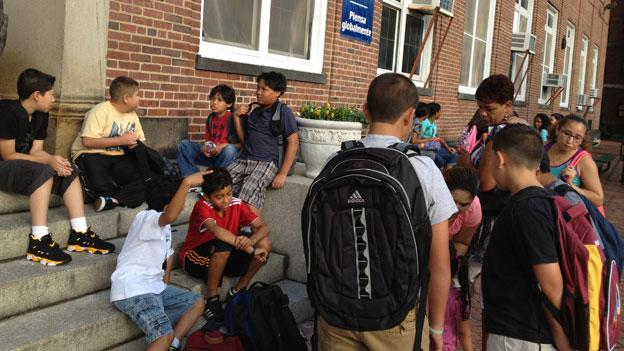 D.C. school children head back to school after summer break today.