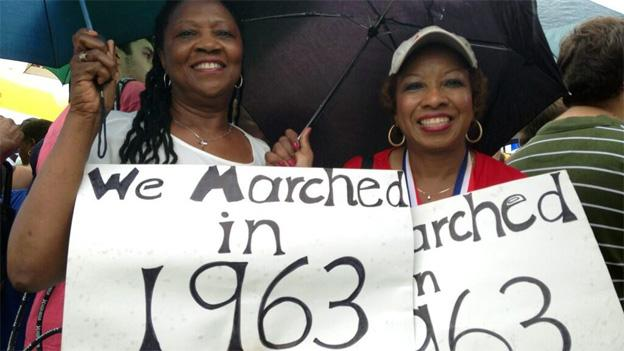 Dianna Watson and Sarah Davidson, who hail from Arkansas, came to the original march when they were just 15 years old.
