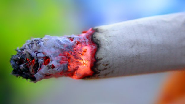 Cigarettes will be restricted to specific areas effective next year.