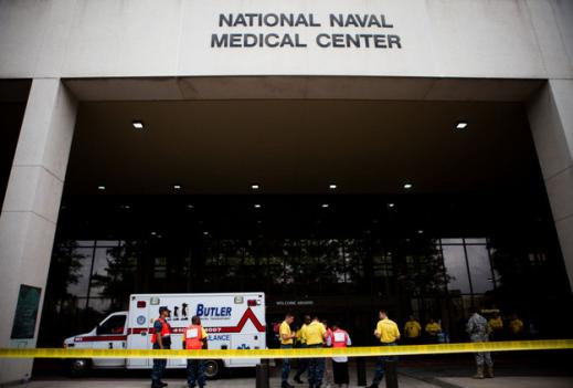 The final patients were moved from the Army's old Walter Reed hospital in Washington, D.C., last weekend to the new, jointly operated Army-Navy hospital in Bethesda, Md.
