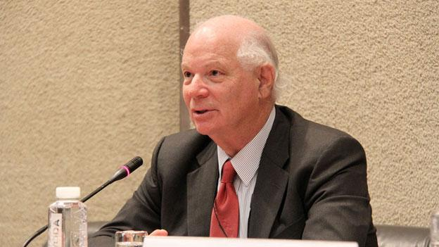 Sen. Ben Cardin (D-Md.) is urging lawmakers to reconsider more than $1 trillion in automatic spending cuts that would disproportionately affect the D.C. area.