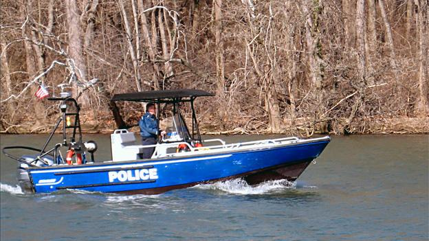 D.C. Police use small craft to patrol the Potomac River.
