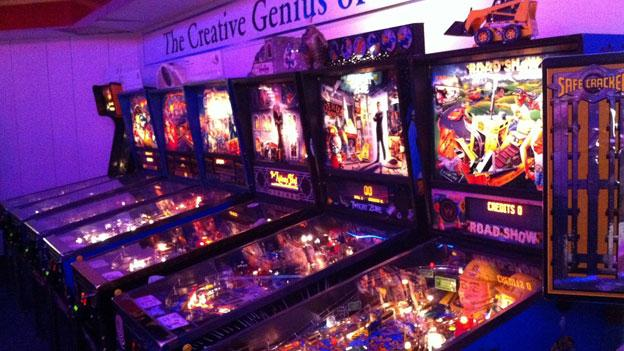Museum founder David Silverman owns more than 800 pinball machines; roughly 200 of them are on display at his National Pinball Museum. The museum is closing Sept. 5.