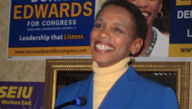 Rep. Edwards says that the number of Democratic women in leadership positions will be a feather in their cap in November.