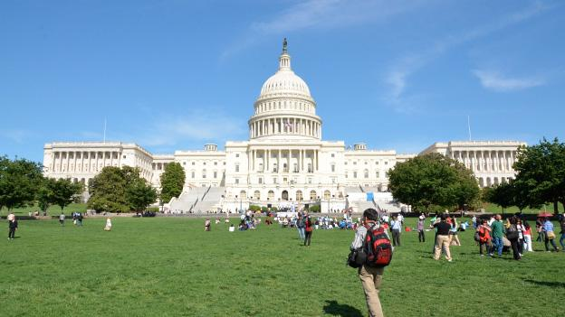Tourists continue to flock to the nation's capitol, even if sequestration halted White House tours.