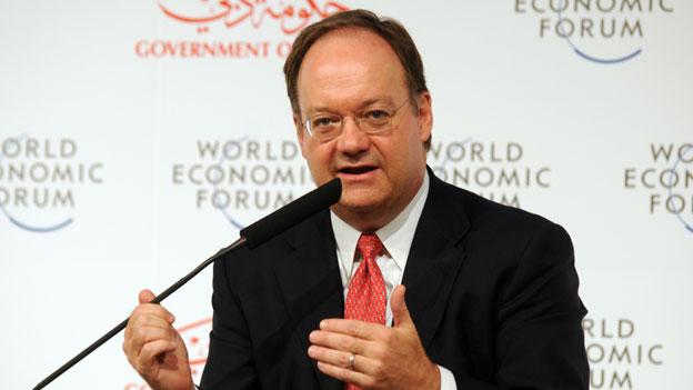Georgetown University President Jack DeGioia, shown here at a World Economic Forum event in 2008, encourages faith leaders to continue interfaith efforts as the country commemorates 10 years since 9/11.