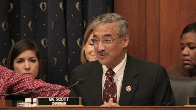 Rep. Bobby Scott (D-Va.) chairs a House Committee on Education and the Workforce hearing in 2009. Scott will not run for a U.S. Senate seat in 2012, he announced Sept. 5.