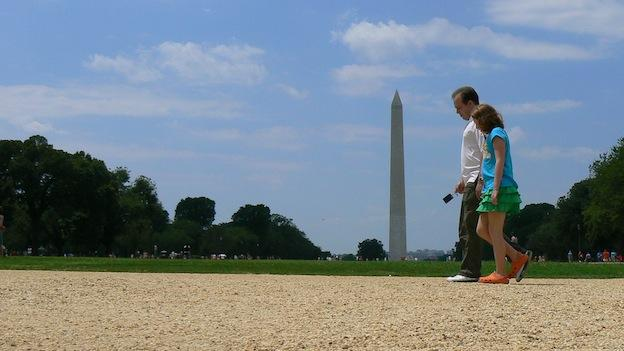 The D.C. area has been rated one of the most walkable cities in the United States.